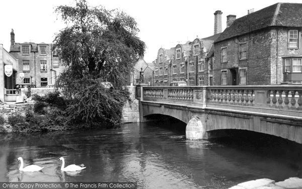 Photo of Witney, The Bridge c.1955