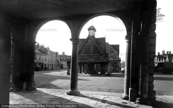 Photo of Witney, The Butter Cross c.1955