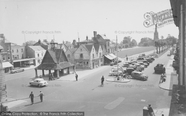 Photo of Witney, The Butter Cross c.1960