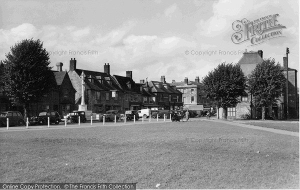 Photo of Witney, The Green c.1955