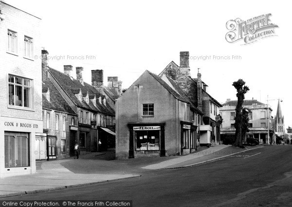 Photo of Witney, The Hill c.1950