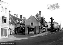 Witney, The Hill c.1950