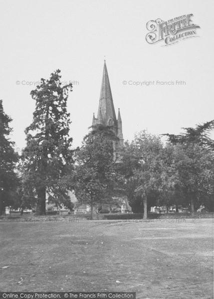 Photo of Witney, The Leys c.1955