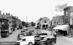 Witney, The Market Place c.1950