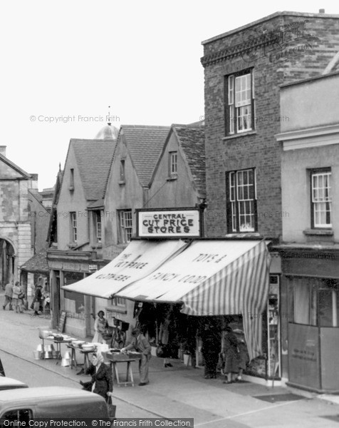 Photo of Witney, The Market Place c.1950