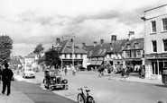 Witney, the Market Square c1955