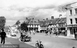 Witney, The Market Square c.1955