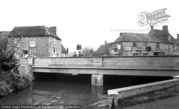 Photo of Witney, The River And Bridge c.1965