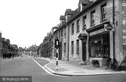 Witney, West End c.1950