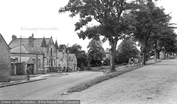 Photo of Witton Le Wear, The Village c.1955