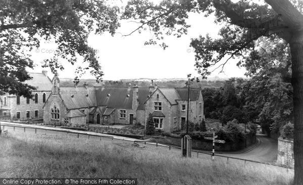 Photo of Witton Le Wear, Village Green c.1955