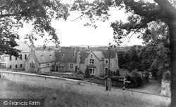 Witton Le Wear, Village Green c.1955