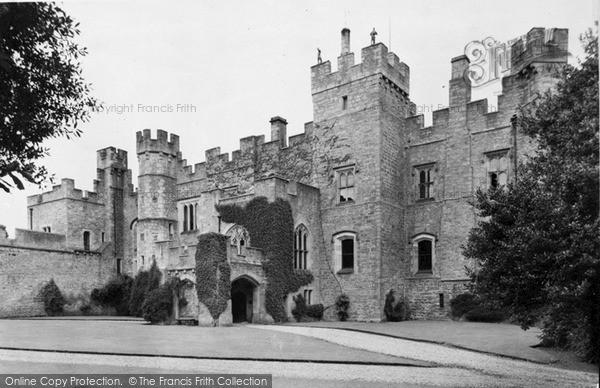 Photo of Witton Le Wear, Witton Castle Ad1410 c.1955