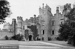 Witton Le Wear, Witton Castle Ad1410 c.1955