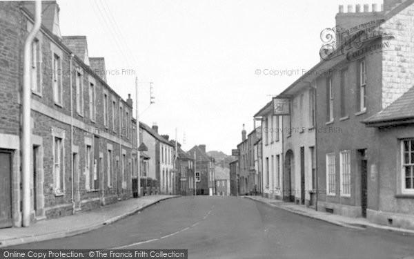 Photo of Wiveliscombe, Church Street c.1955