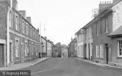 Wiveliscombe, Church Street c.1955