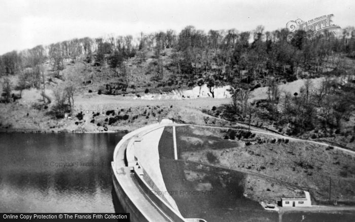 Photo of Wiveliscombe, Clatworthy Reservoir c.1960
