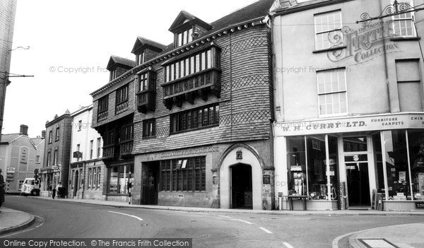 Photo of Wiveliscombe, Court House 1967