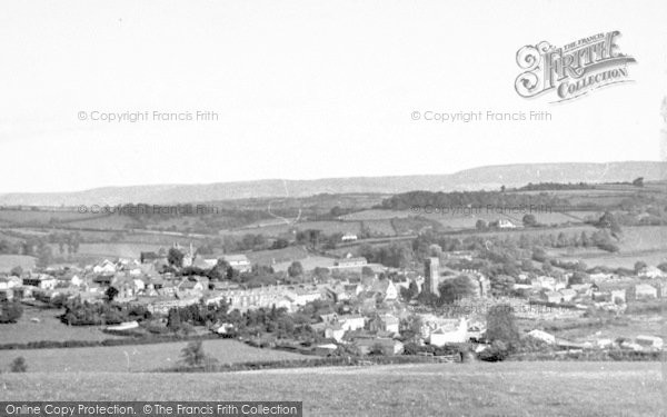 Photo of Wiveliscombe, General View c.1955