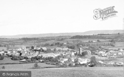 Wiveliscombe, General View c.1955