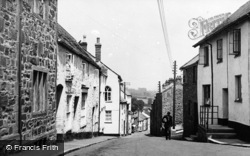 Wiveliscombe, Golden Hill c.1955