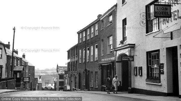 Photo of Wiveliscombe, High Street 1955