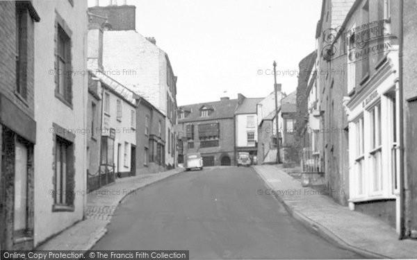 Photo of Wiveliscombe, High Street c.1955