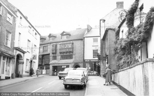 Photo of Wiveliscombe, High Street c.1960