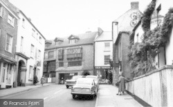 Wiveliscombe, High Street c.1960