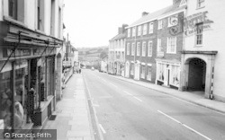 Wiveliscombe, High Street c.1967