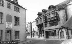 Wiveliscombe, Judges c.1967
