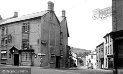 Wiveliscombe, North Street 1955