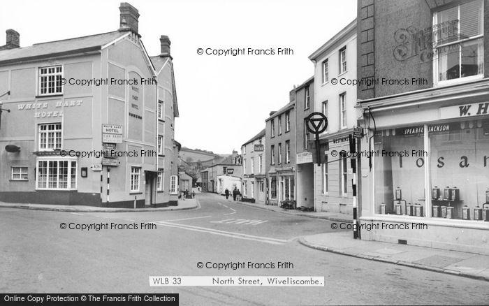 Photo of Wiveliscombe, North Street c.1967