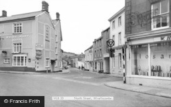 Wiveliscombe, North Street c.1967
