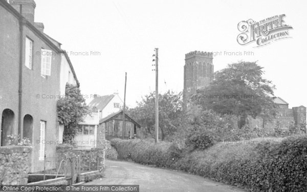 Photo of Wiveliscombe, Rotton Row And Parish Church c.1955