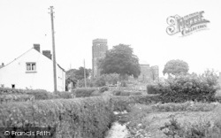 Wiveliscombe, St Andrew's Church c.1960