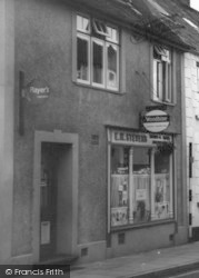 Wiveliscombe, Stevens' Hairdressers c.1967