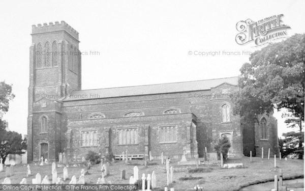 Photo of Wiveliscombe, The Parish Church c.1955