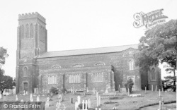 Wiveliscombe, The Parish Church c.1955