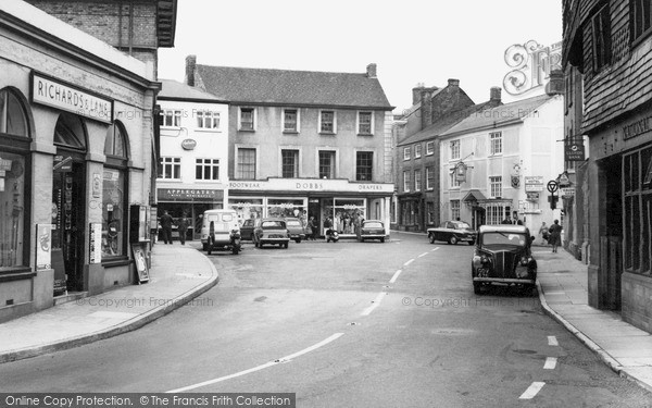 Photo of Wiveliscombe, The Square 1962