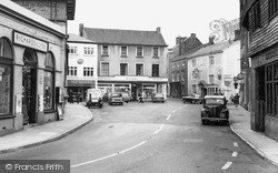 Wiveliscombe, The Square 1962