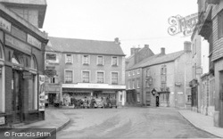 Wiveliscombe, The Square c.1955