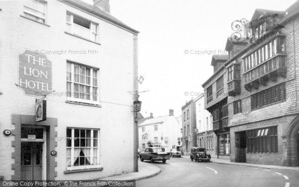 Photo of Wiveliscombe, The Square c.1960