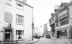 Wiveliscombe, The Square c.1960