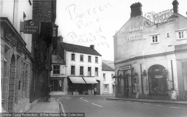 Photo of Wiveliscombe, The Square c.1967