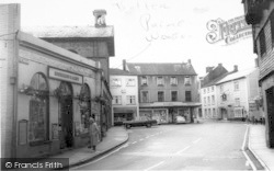Wiveliscombe, The Square c.1967
