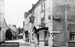 Wiveliscombe, West Street c.1955