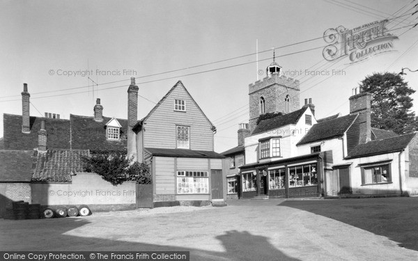 Photo of Wivenhoe, Anchor Hill c.1955