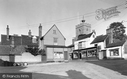 Wivenhoe, Anchor Hill c.1955