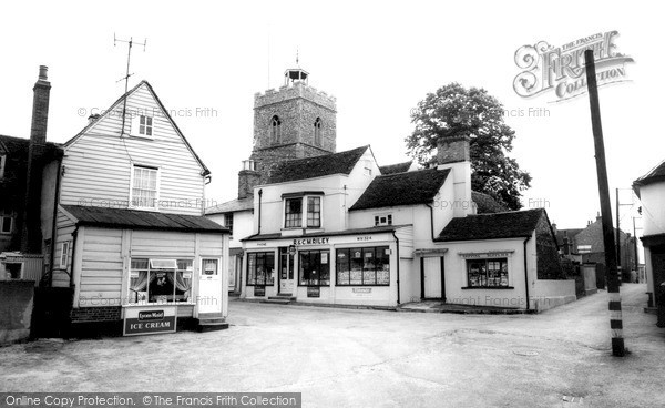 Photo of Wivenhoe, Anchor Hill c.1960